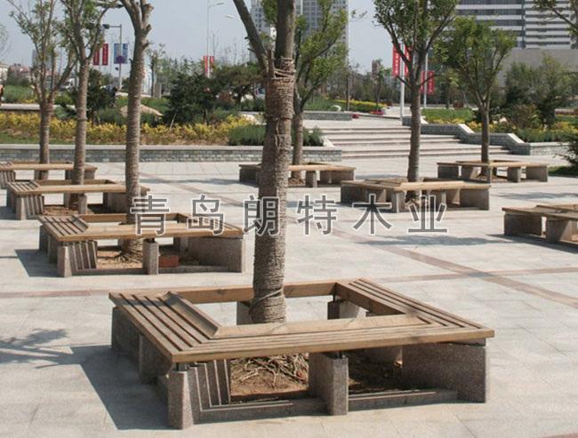 青岛防腐木工程