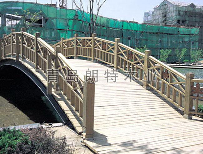 青岛防腐木桥