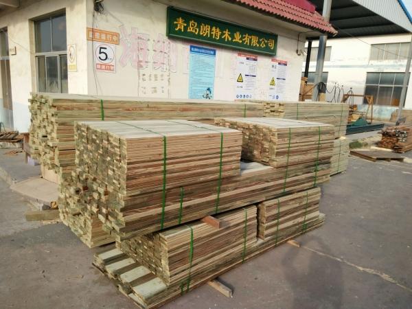 青岛防腐木加工