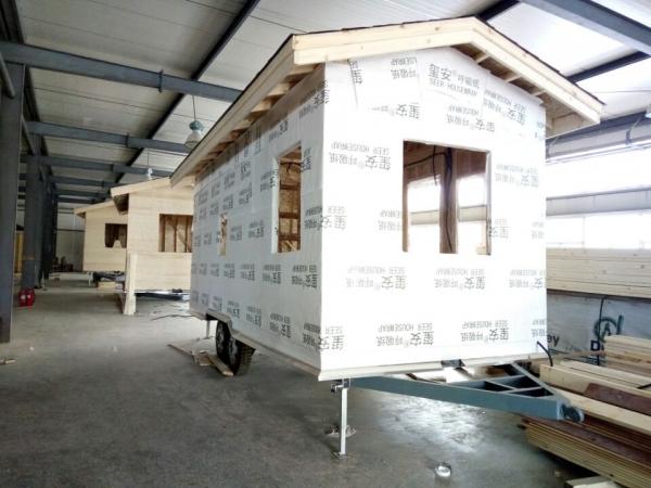 黄岛移动木屋