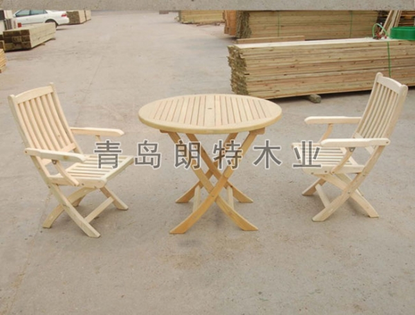 黄岛防腐木桌椅