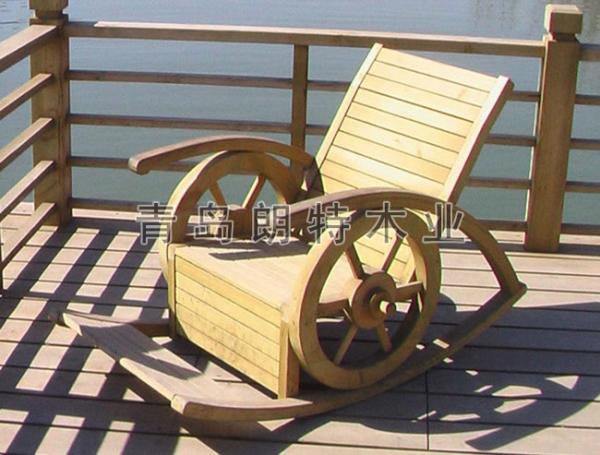 黄岛防腐木坐凳
