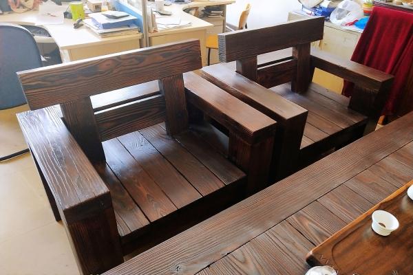 平度实木座椅